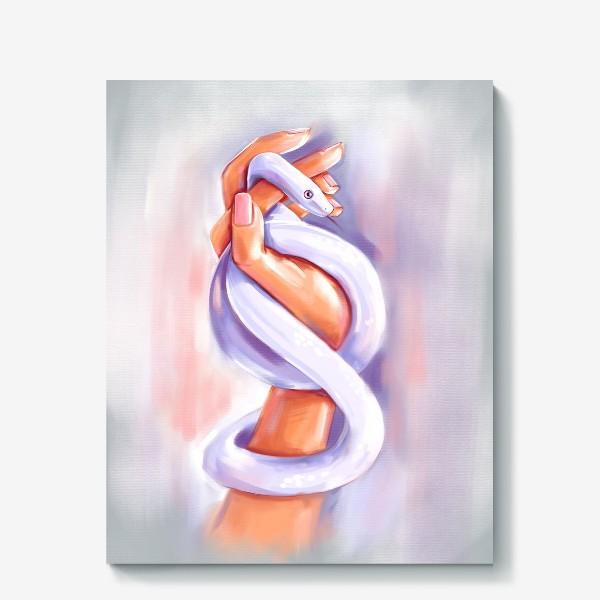 Холст «Змея»