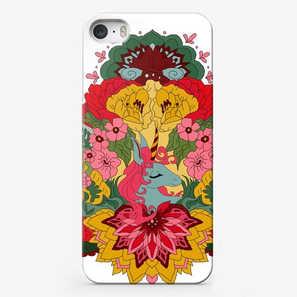 Чехол iPhone «Гавайский единорог»