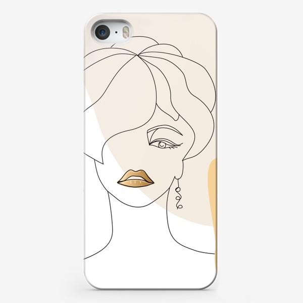 Чехол iPhone «Gold7»