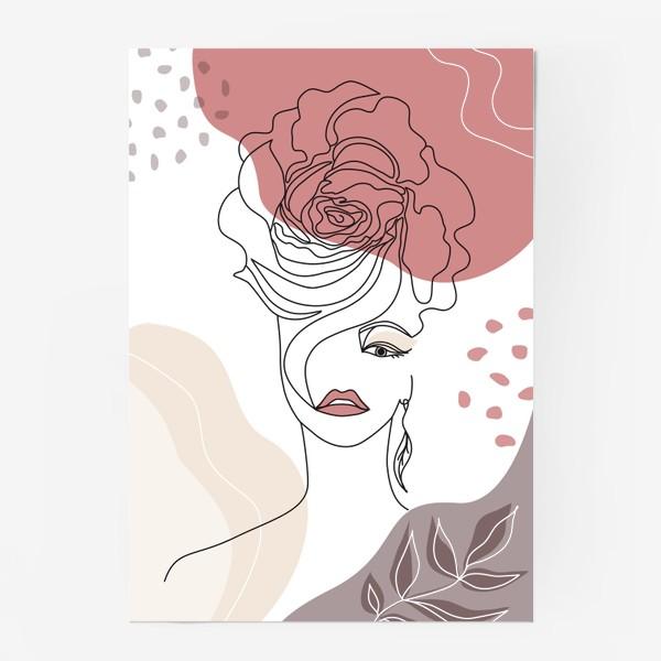 Постер «Flower girl4»