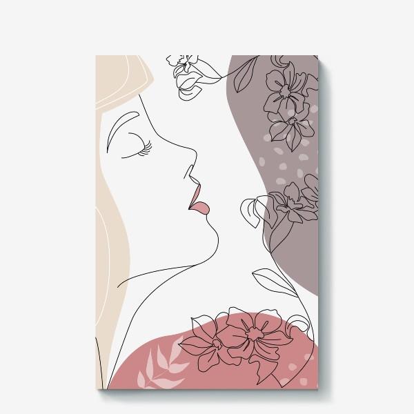 Холст «Flower Girl5»