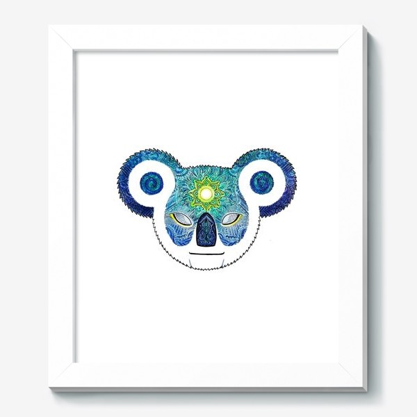 Картина «Медитирующая Дудл Коала (Meditator Koala)»