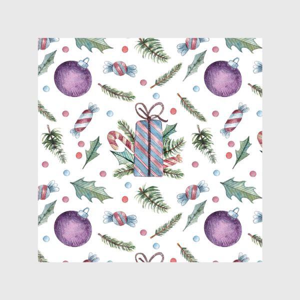 Шторы «Новогодние подарки»