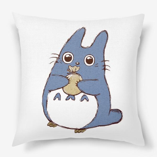 Подушка «Тоторо с мешочком»
