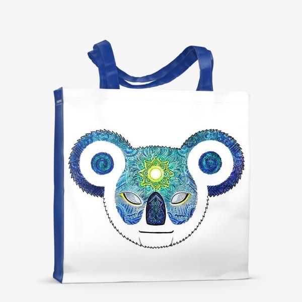 Сумка-шоппер «Медитирующая Дудл Коала (Meditator Koala)»