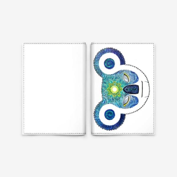 Обложка для паспорта «Медитирующая Дудл Коала (Meditator Koala)»