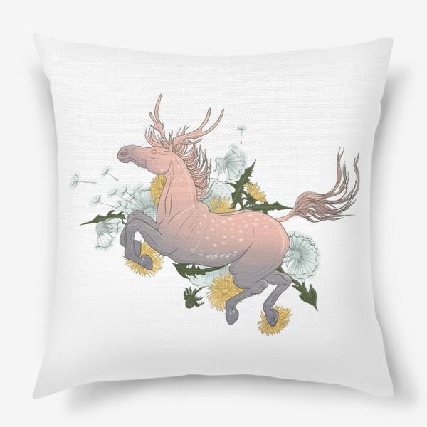 Подушка «Spring horse 2»