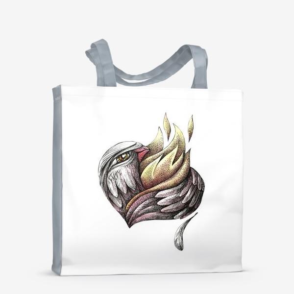 Сумка-шоппер «Пылающее сердце»