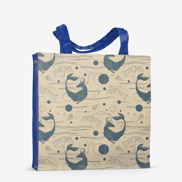Сумка-шоппер «Fishorse pattern»