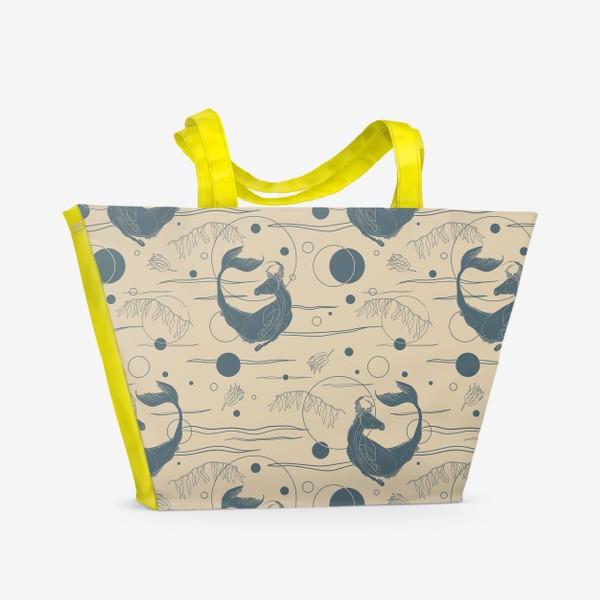 Пляжная сумка «Fishorse pattern»