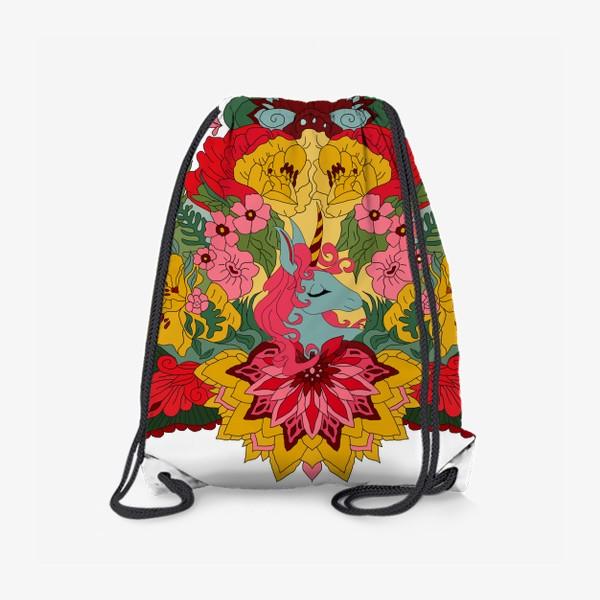 Рюкзак «Гавайский единорог»