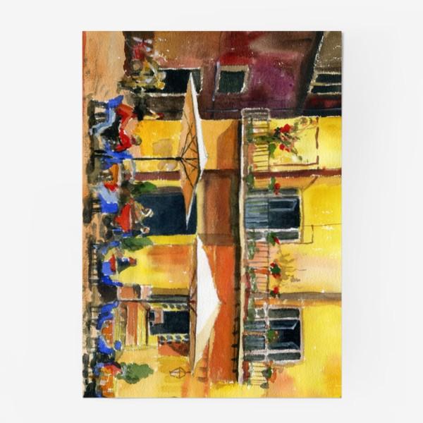 Постер «Рим. Уличное кафе»