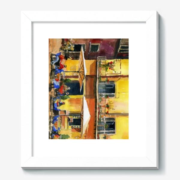 Картина «Рим. Уличное кафе»