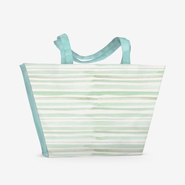 Пляжная сумка «Полоски»