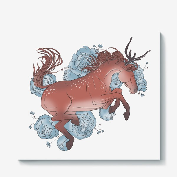 Холст «Spring horse 3»