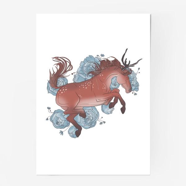 Постер «Spring horse 3»