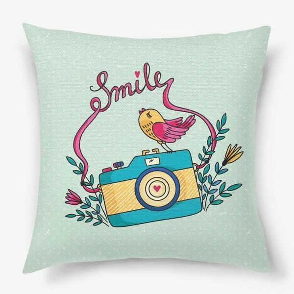 Подушка «Smile!»