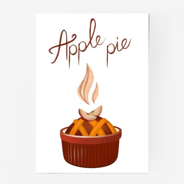 Постер «Яблочный пирог»