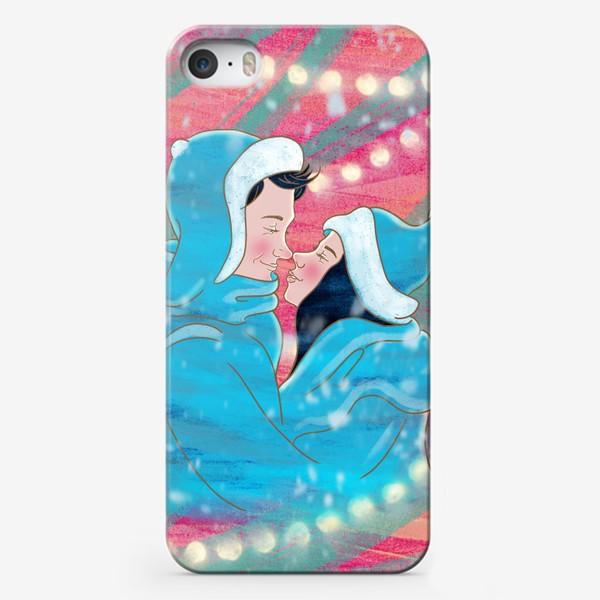 Чехол iPhone «Первый поцелуй»
