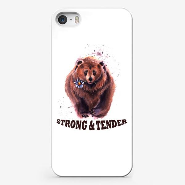 Чехол iPhone «Сильный и нежный»