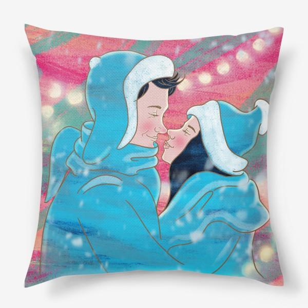 Подушка «Первый поцелуй»