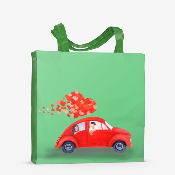 Сумка-шоппер «Love car»