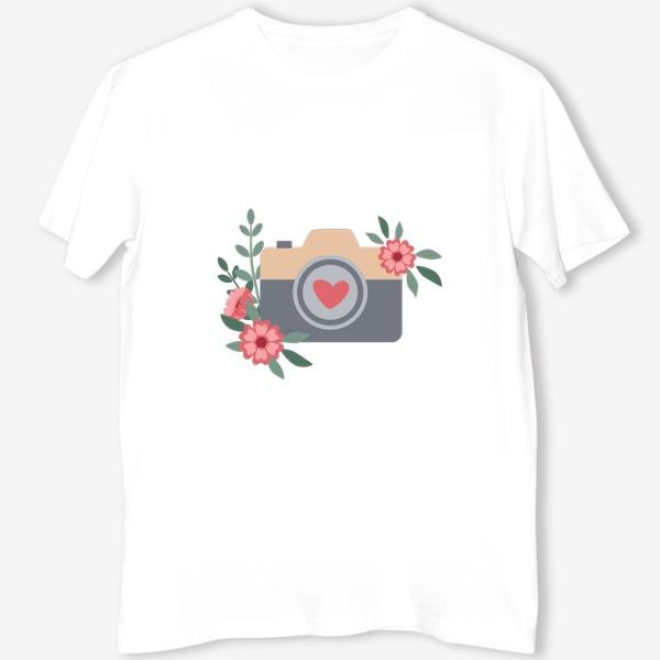 Футболка «Фотоаппарат День всех влюбленных»