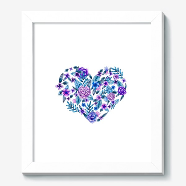 Картина «Цветочное сердце»