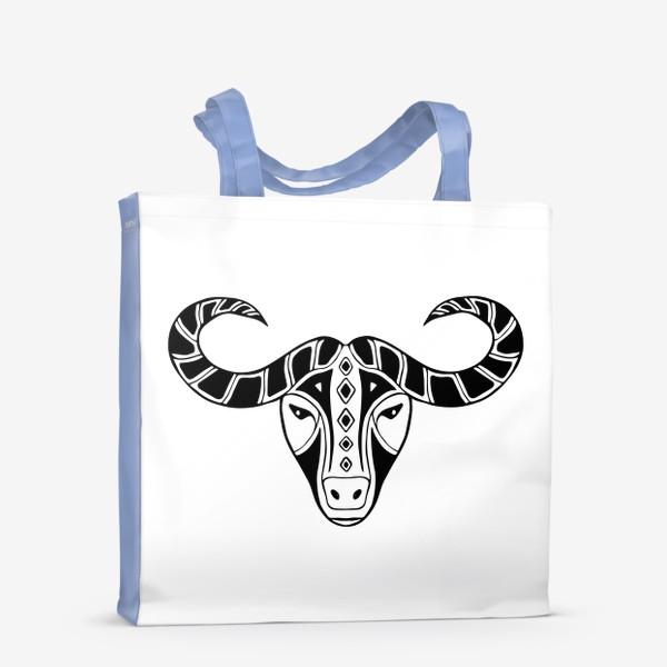 Сумка-шоппер «Год быка 2021. Символ Нового года»