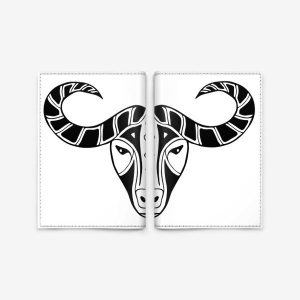 Обложка для паспорта «Год быка 2021. Символ Нового года»