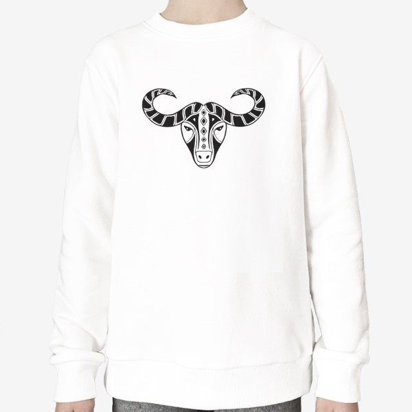 Свитшот «Год быка 2021. Символ Нового года»