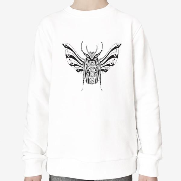 Свитшот «Богемный жук. Скарабей»