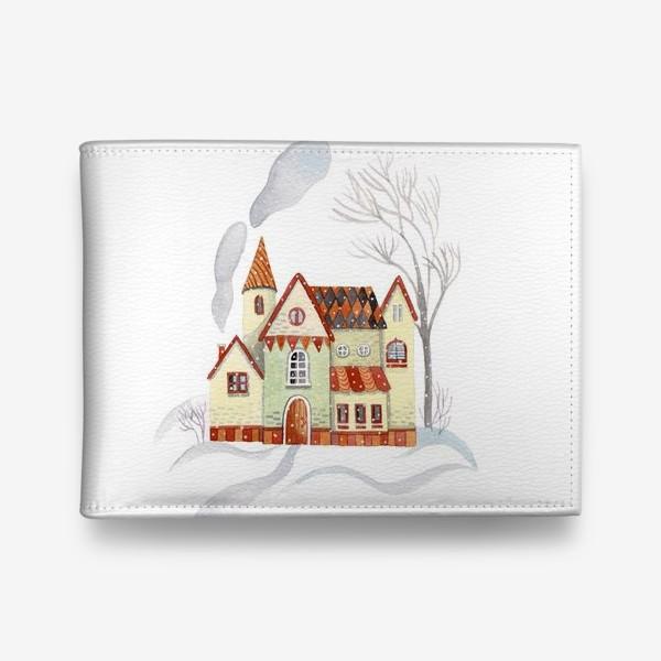 Кошелек «Зимний домик»