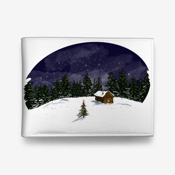 Кошелек «Снежная ночь»