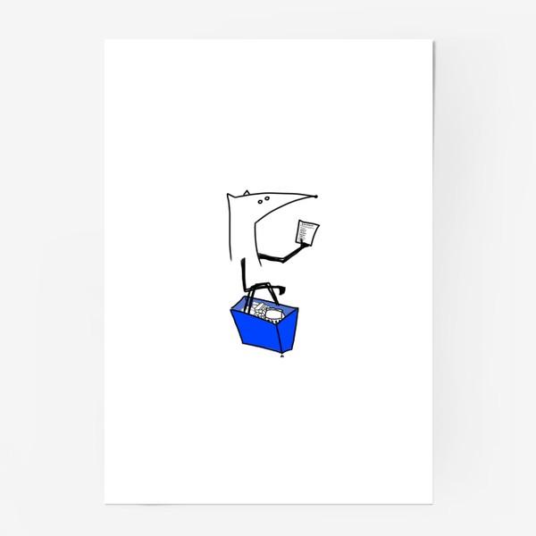 Постер «Лисица-повар. Рецепт колобка»