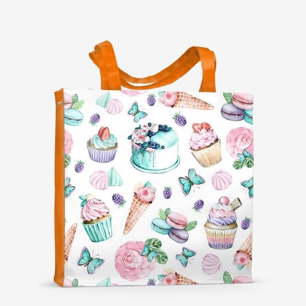 Сумка-шоппер «Нежные сладости»
