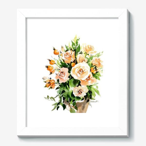 Картина «Чайные розы»