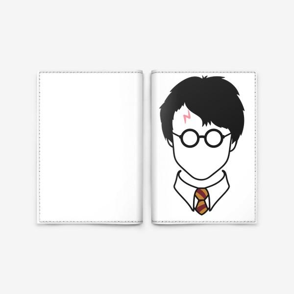Обложка для паспорта «гарри поттер лицо»