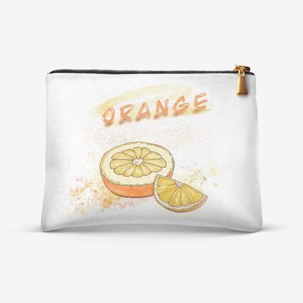 Косметичка «Апельсин»