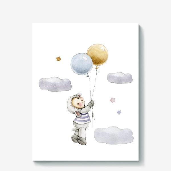 Холст «Овечка  в облаках»