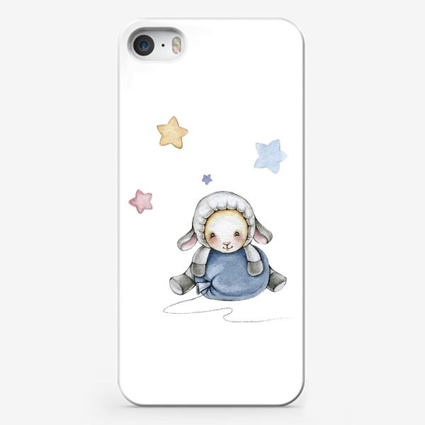 Чехол iPhone «Овечка с шариком»