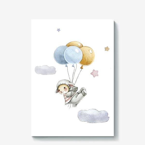 Холст «Воздушные шарики»