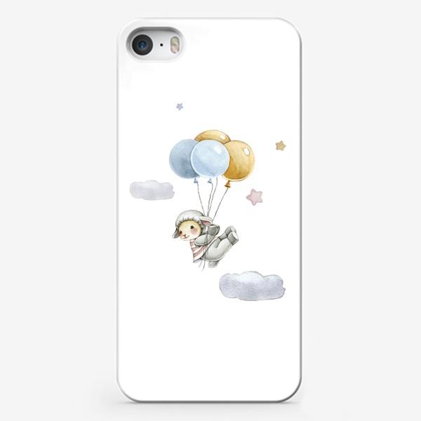 Чехол iPhone «Воздушные шарики»
