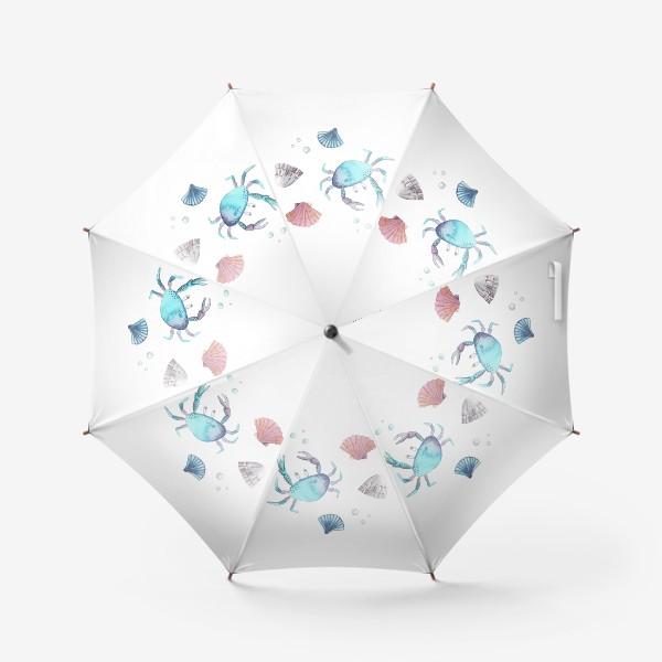 Зонт «крабы»
