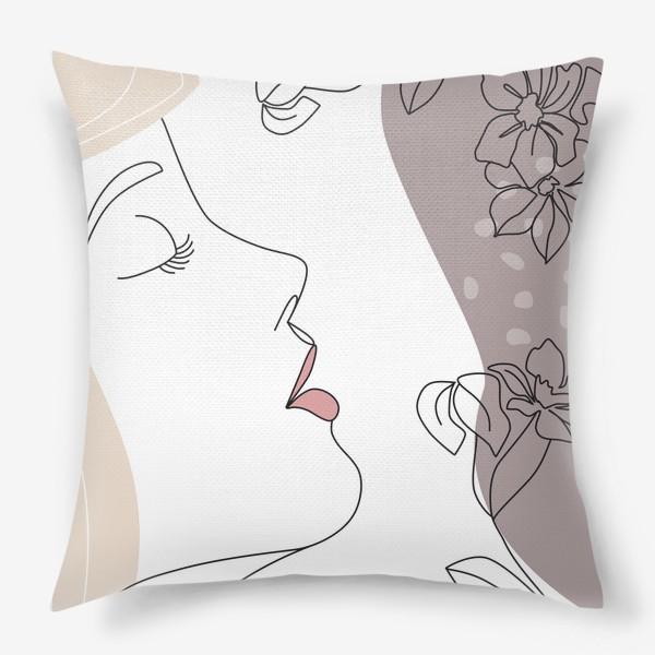 Подушка «Flower Girl5»