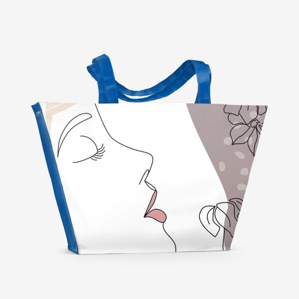 Пляжная сумка «Flower Girl5»