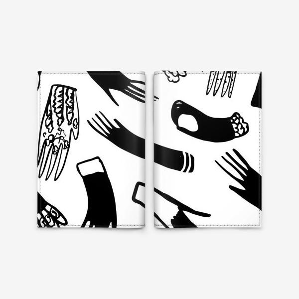 Обложка для паспорта «Перчатки»