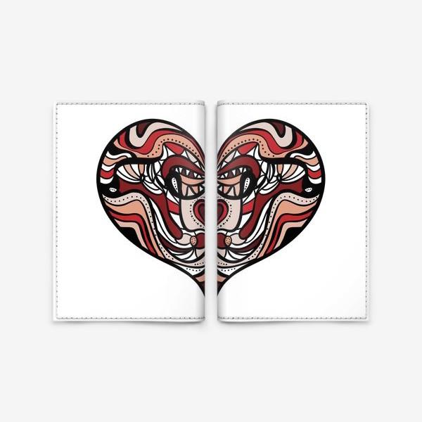 Обложка для паспорта «Сердце 1»