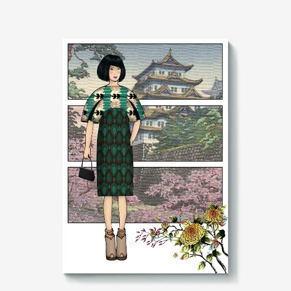 Холст «Япония_4»