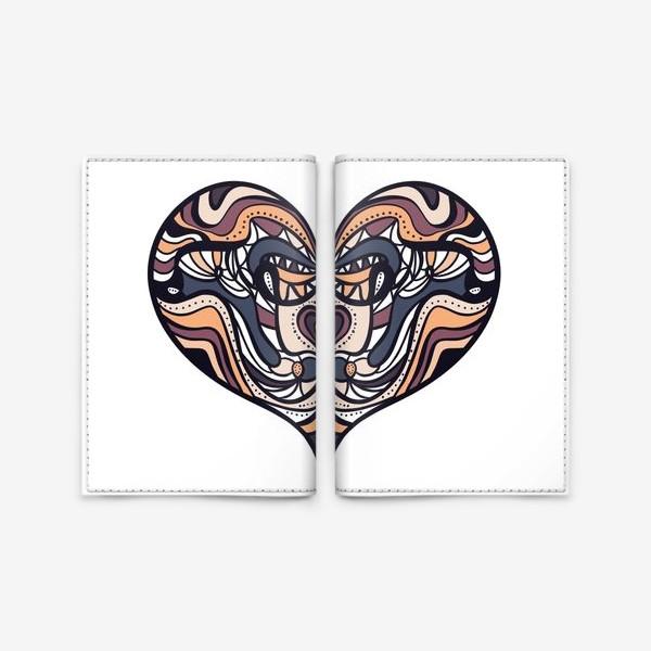 Обложка для паспорта «Сердце 2»